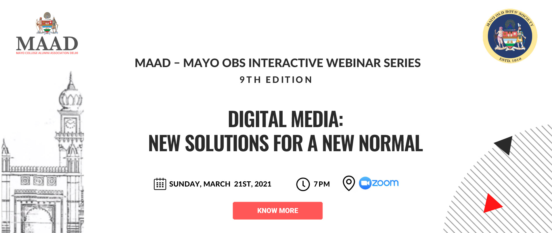 MAAD - Mayo OBS Interactive Webinar Series 9th Edition